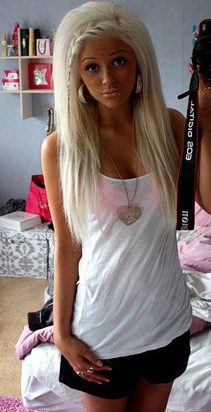 Big Teased Hair <3