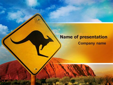 http://www.pptstar.com/powerpoint/template/kangaroo-sign/ Kangaroo Sign Presentation Template
