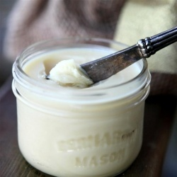 All natural recipe for super moisturizing Mango Citrus Body Butter.