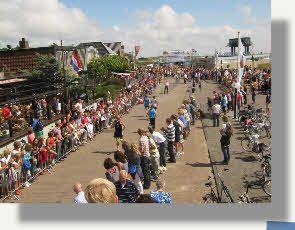 De halve marathon van Vlieland