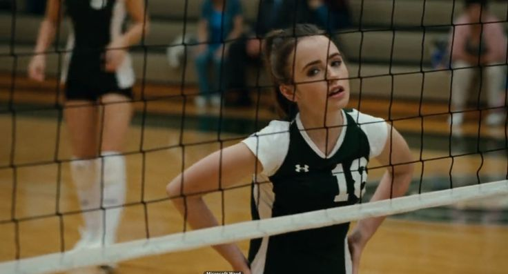 Under Armour Volleyball Jersey Worn By Lily Collins In The