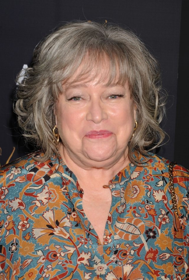 Kathy Bates  How to be fearless and tough  Fried Green tomatoes, Misery, and Primary Colors. Who else could be the unsinkable Molly Brown? Titanic.... AND Harry's Law on commercial TV.