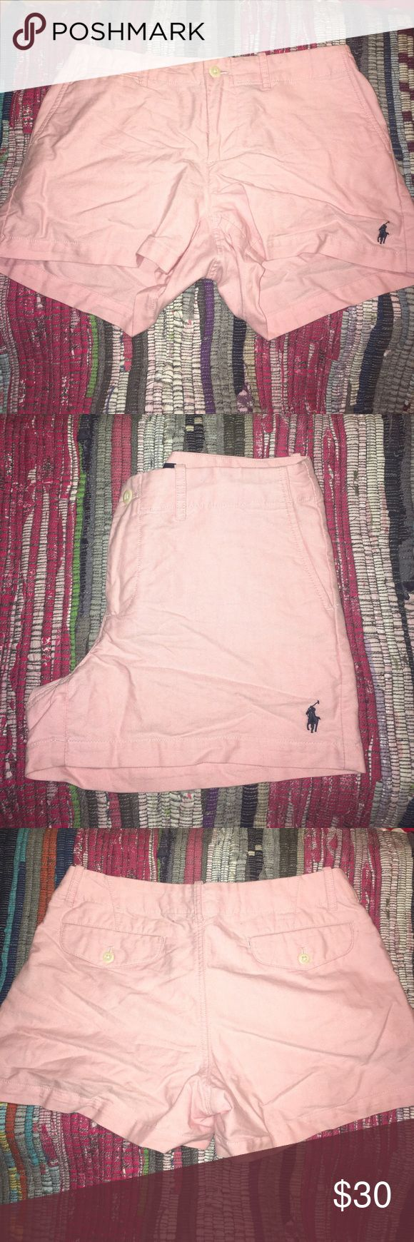 ☀️Polo Ralph Lauren Sport Light Pink Shorts☀️ Polo Ralph Lauren Sport Light Pink Shorts. Great condition. No holes, rips, or tears. Polo by Ralph Lauren Shorts