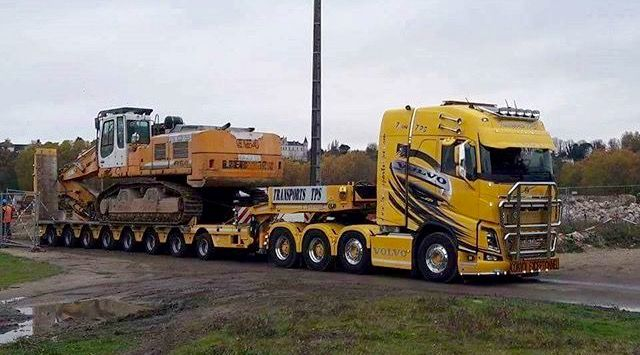 Volvo FH 16 750 Transports TPS