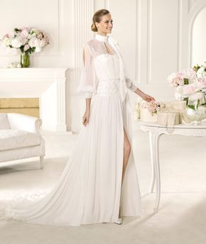 Bridesmaid Dresses, Wedding Dresses, Bridal - Pronovias Manuel Mota 2013 gelinlik modelleri (2)