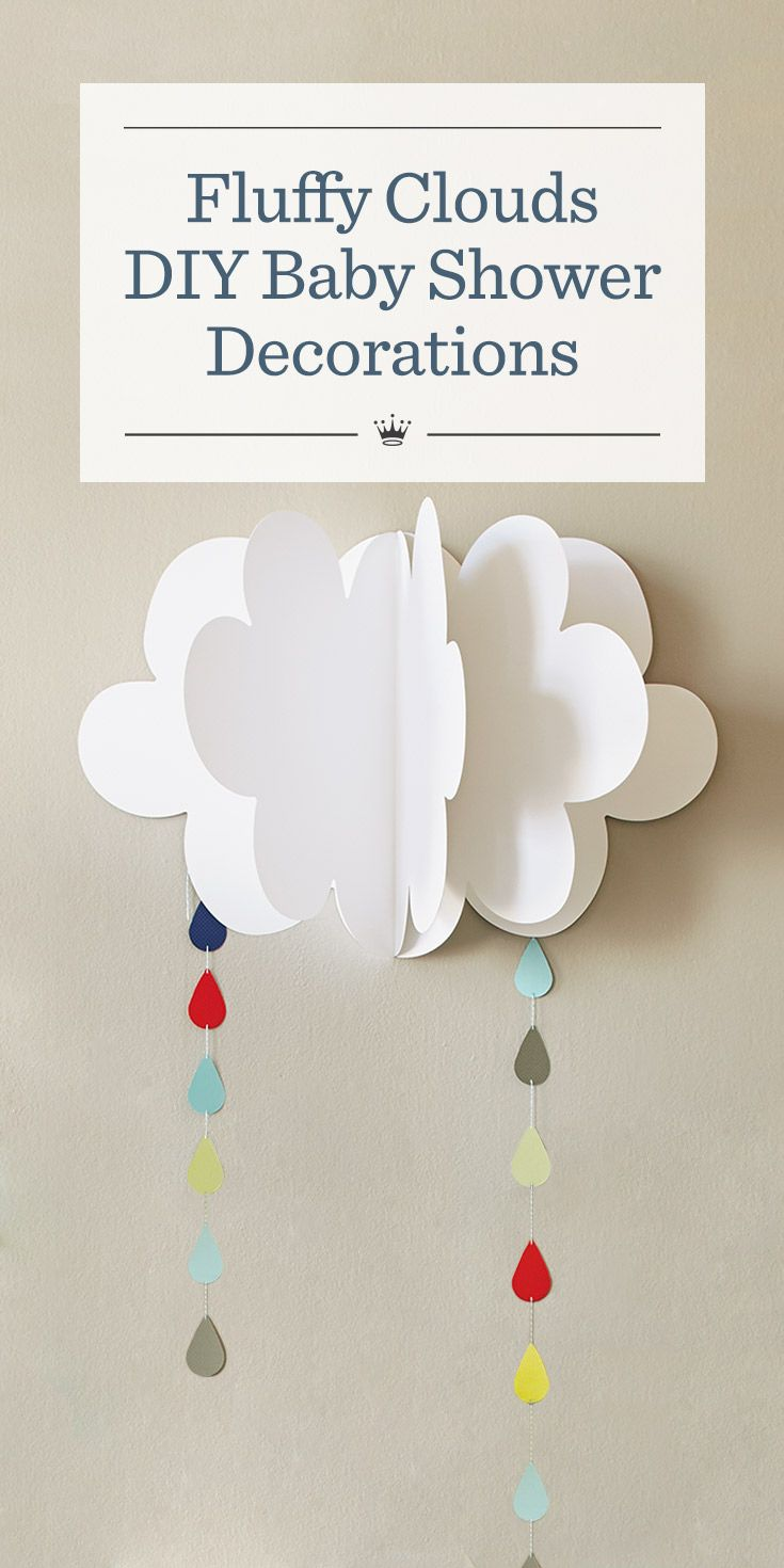 17 best ideas about baby shower templates on pinterest for Baby shower decoration ideas to make