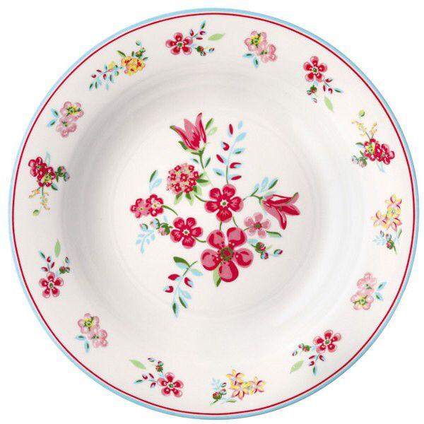 Dinnerplate Sophia White  Købt af havenisse