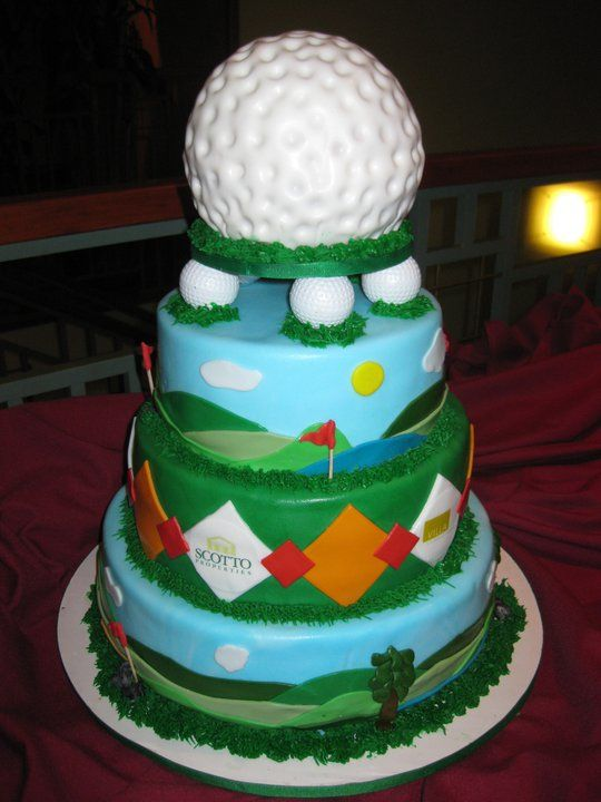 Golf Cake - This was for a Charity Golf Outing at my company.