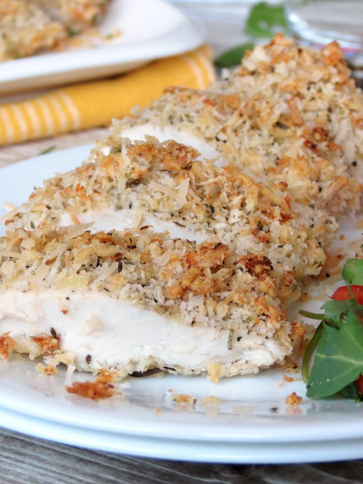 Baked Parmesan Crusted Chicken Recipe Parmesan Crusted