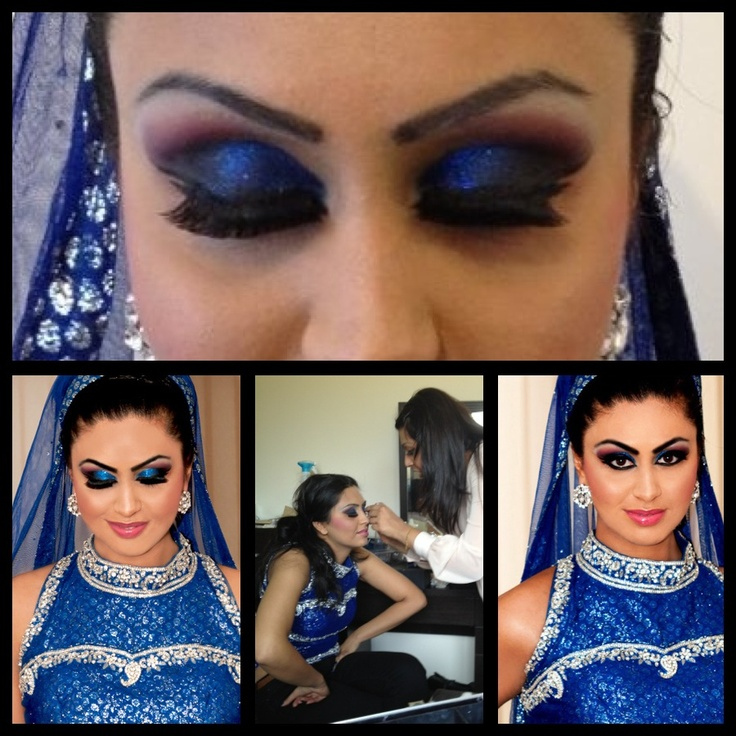 Model makeup contemporary walimah look
