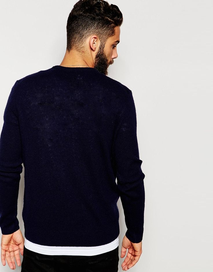 Image 2 of Farah Jumper in Lambswool EXCLUSIVE
