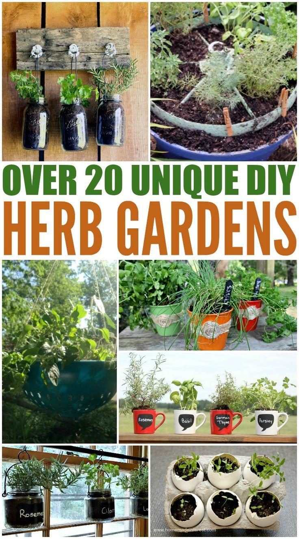 Homemade garden art ideas - Planting Herbs Designs For Your Spring Garden