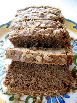 Gluten Free Oatmeal Bread. And it's a non yeast bread, so less chance of me messing it up.