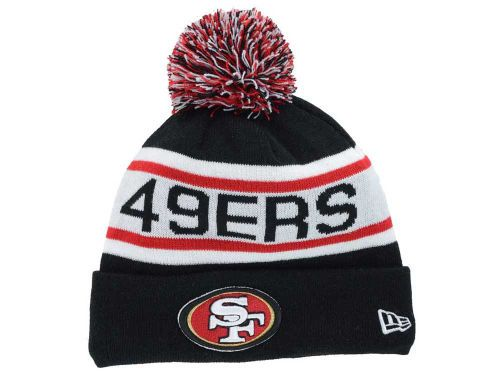 San Francisco 49ers New Era NFL 2014 Biggest Fan Knit Hats