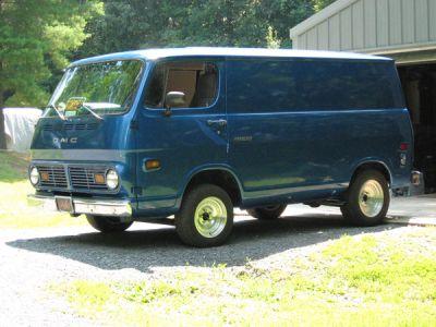 Custom GMC Vans | 1968 GMC Handivan, Berkeley Springs, West Virginia