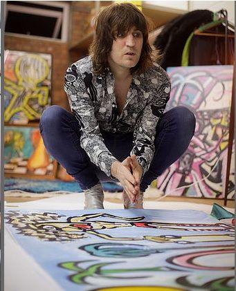 Noel in the studio - Joe Lynn Photography