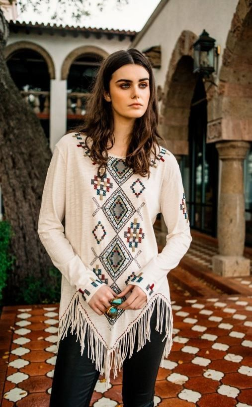 Double D Ranch Fall 2016 Argentinian Argyle Top - seed beads, embroidery, western, NFR   http://www.cowgirlkim.com/double-d-ranch-fall-2016-argentinian-argyle-top.html