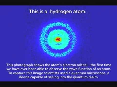 Real image of a hydrogen atom... | Amazing facts of science ...