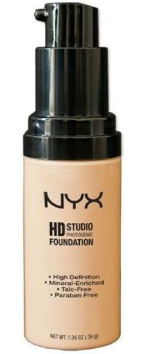 NYC HD Studio foundation dupe for Make Up Forever HD studio foundation