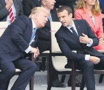 Trump y Macron comparten el desfile militar por el aniversario de la toma de la Bastilla. (Fuente: EFE) (Fuente: EFE) (Fuente: EFE) (Fuente: EFE)