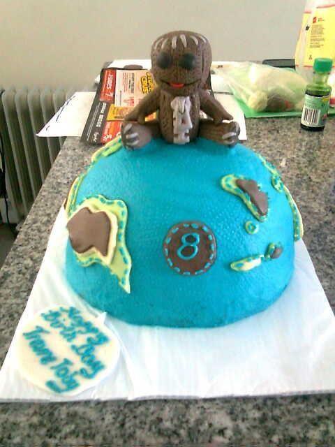 Little Big Planet Zackboy cake