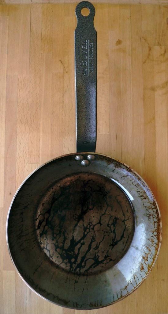 seasoning a carbon steel pan cowboy steel skillets pinterest steel and carbon steel pan. Black Bedroom Furniture Sets. Home Design Ideas