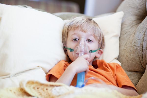 The flu is dangerous for kids with asthma