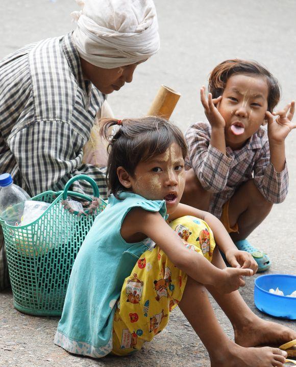 Making ends meet, Yangon Myanmar