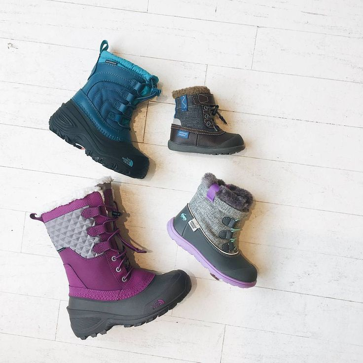 ALL KIDS' WINTER BOOTS ARE NOW 50% OFF!  Insulated and waterproof boots from @seekairun and @thenorthface!From toddler size 4 to youth size 5. Grab a pair for this year or be prepared for next! Additional tax free in store only!