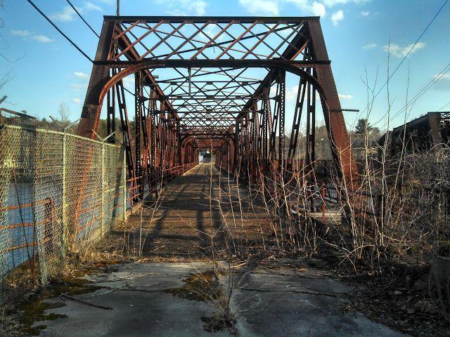 Abandoned New Hampshire | Abandoned Bridge, Hooksett New Hampshire