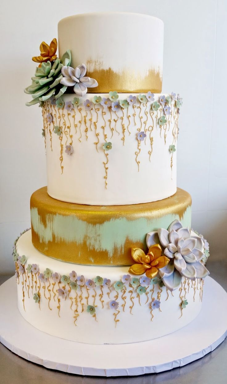 Blissfully Beautiful Wedding Cake Inspiration