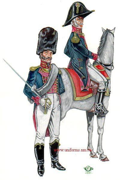 Ufficiali dei granatieri del regno di Napoli