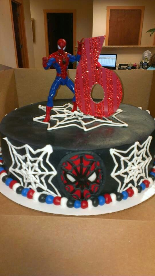 Spiderman cake - Lukas favorite