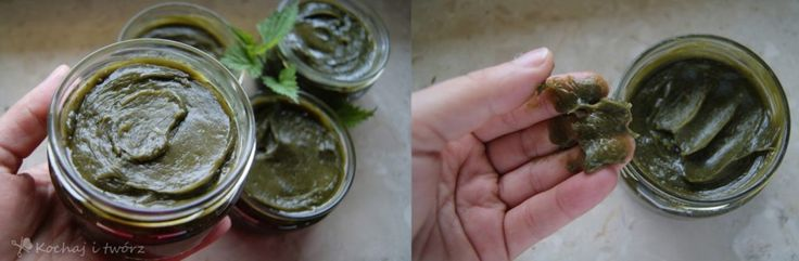 Homemade potassium hair soap with nettle juice (recipe and review).