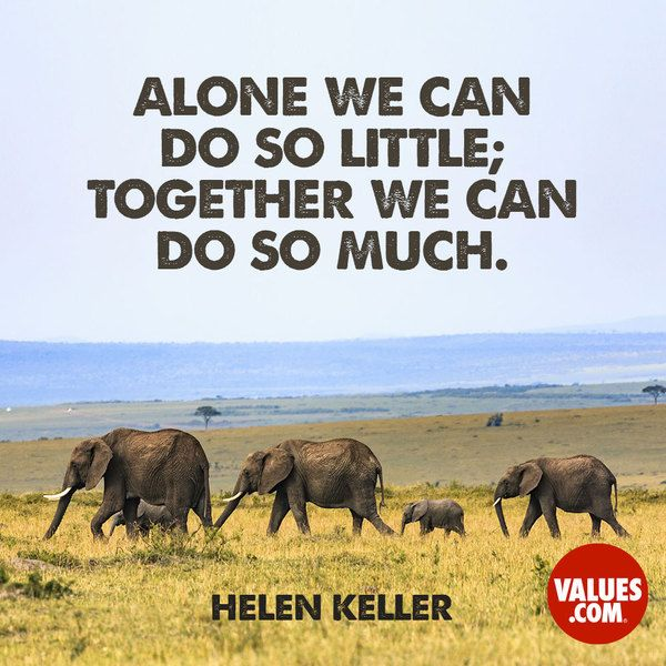 When we work together, we can accomplish amazing things. #passiton #unity