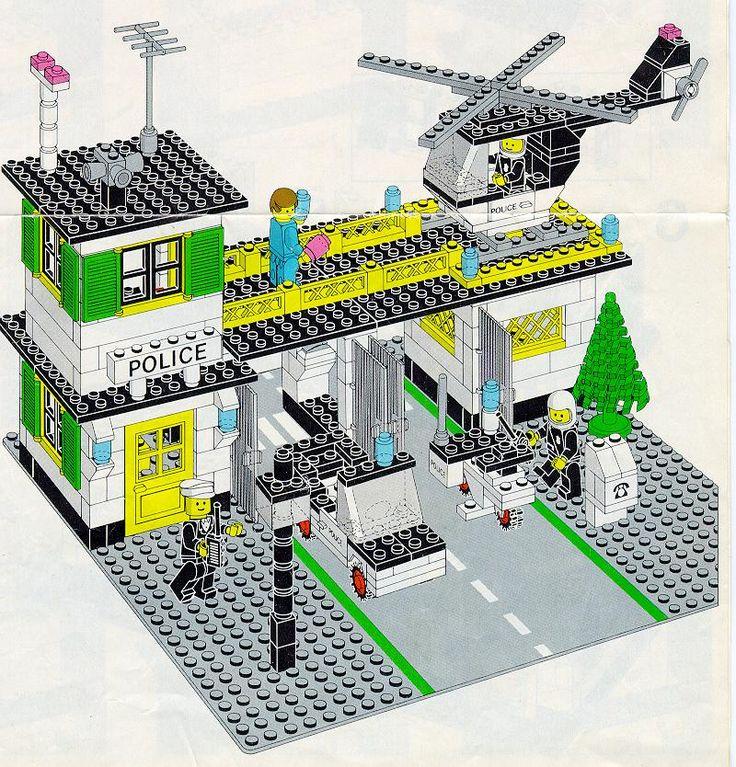 Police - Police Station [Lego 381]