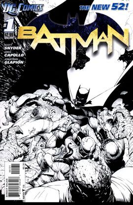 New 52 Batman #1 Sketch Cover (1:200).  Click on the picture for more information...