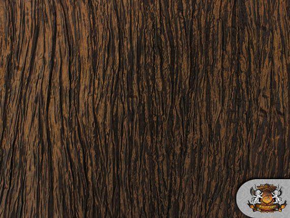 Taffeta CRUSHED Dark Bronze Fabric / 49 Wide / by FabricEmpire, $3.79