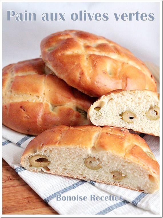 pain moelleux aux olives