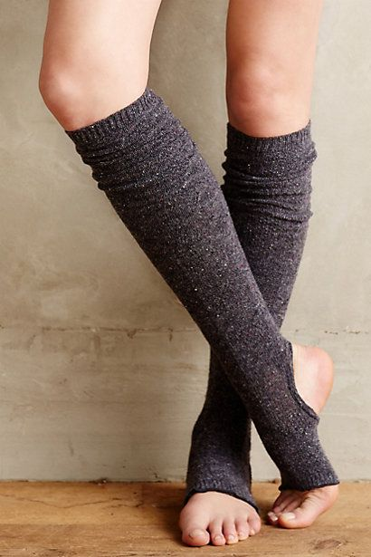 Stirrup Legwarmers #anthropologie #anthrofave