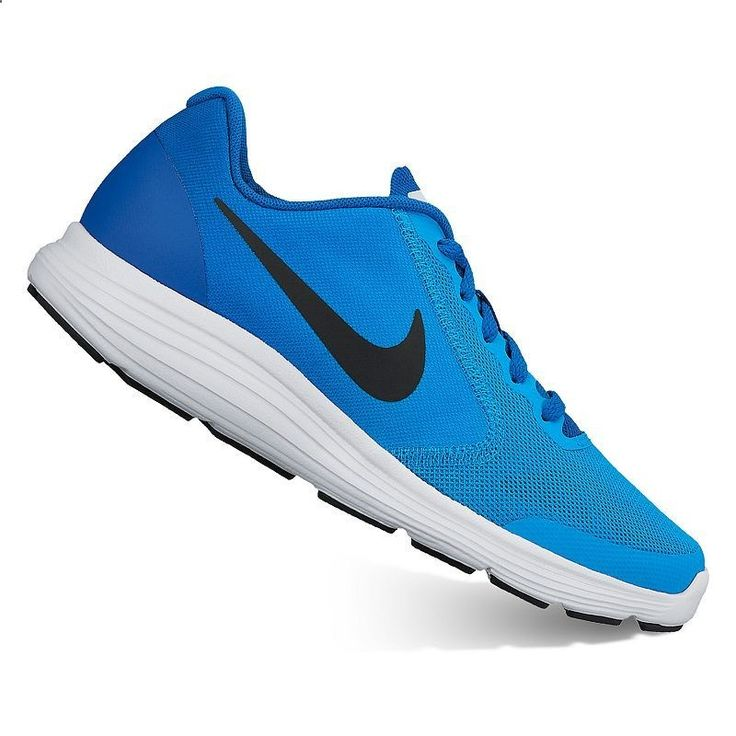 Nike Revolution 3 Grade-School Boys Running Shoes, Dark Blue