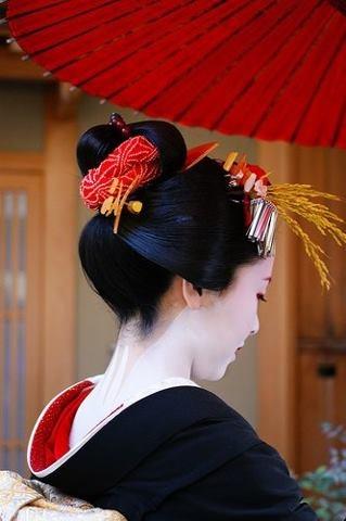 Kanzashi, #geisha #kyoto #japan