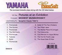 Modest Mussorgsky - Pictures at an Exhibition - Smart PianoSoft