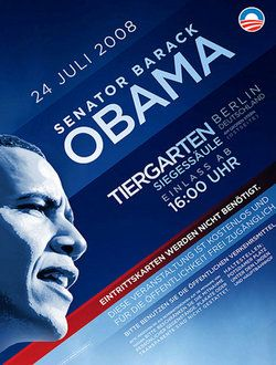 Oberholtzer-creative, Obama Berlin Poster, 2008