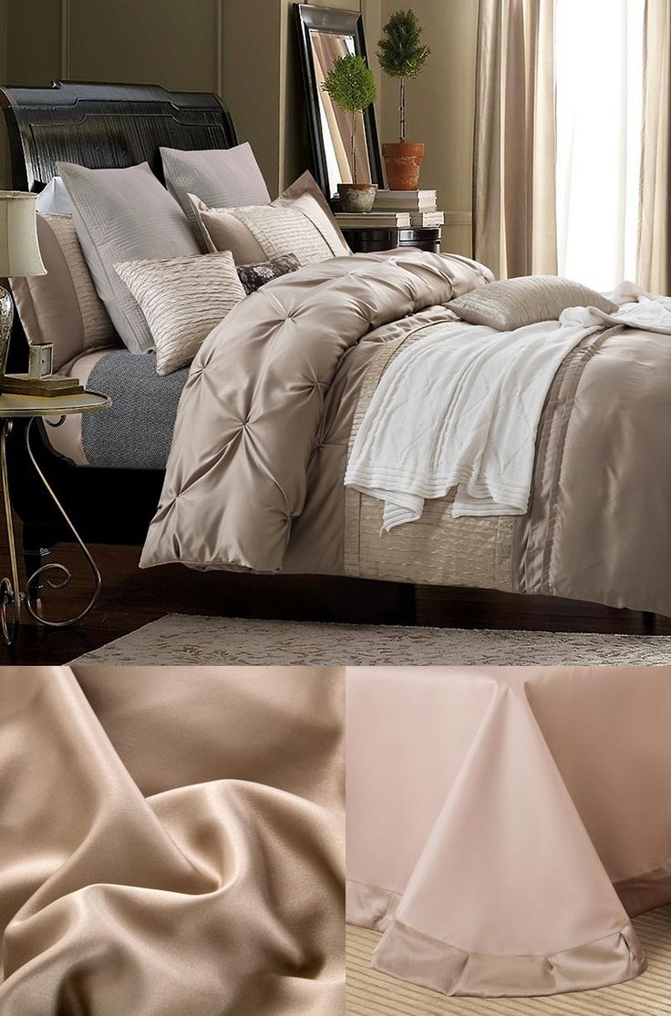 doona cover set modern gray twin full queen luxury silk bedding set 1388silk