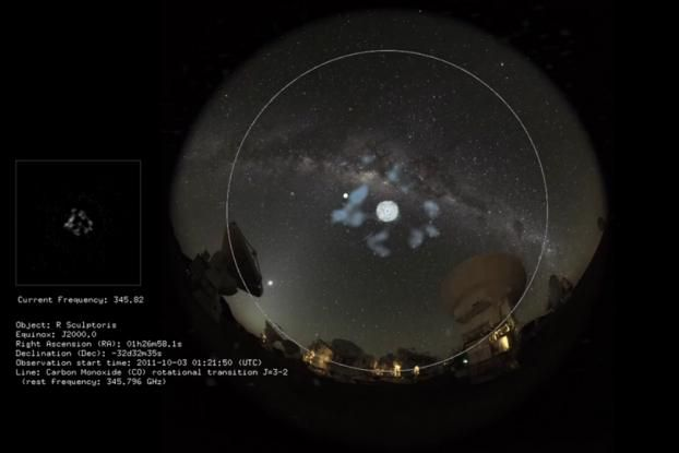 Listen to the Haunting Music of a Distant Dying Star in This Japanese Astronomy Project - Interactive (video) - Creativity Online