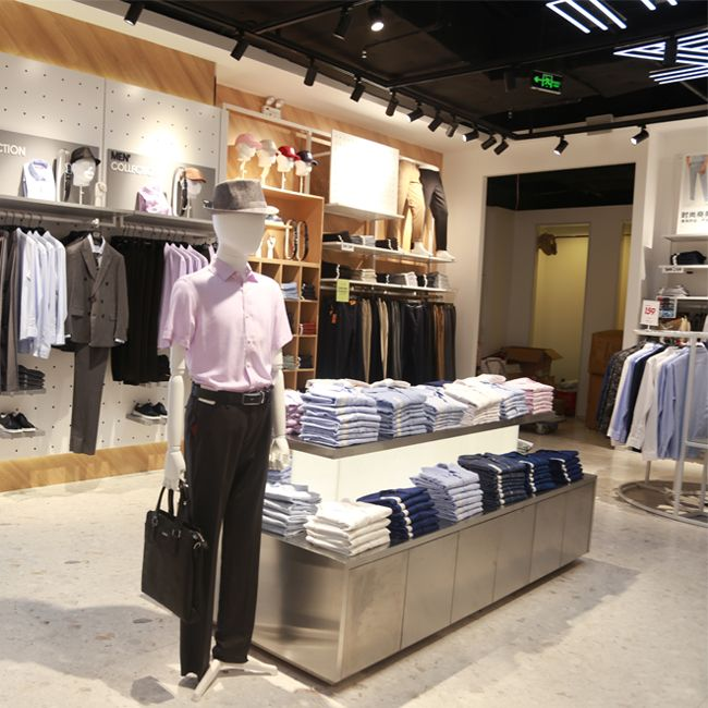 Menswear Display Ideas Store Design Interior Furniture Shop Clothing Store Interior