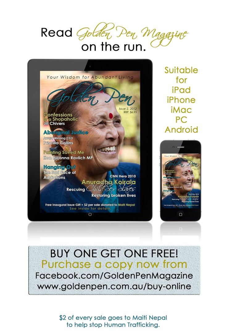 $6.95 available now.  Two dollars from every sale goes to support the work of Anuradha Koirala at Maiti Nepal where she rescues women and children from sexual slavery and domestic violence.