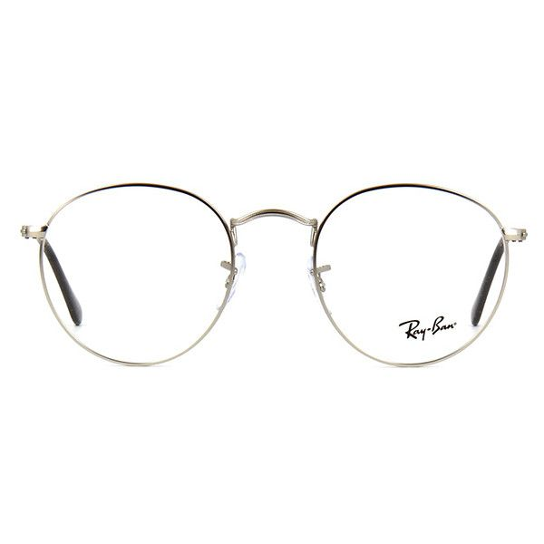 Ray Ban Metal RB 3447V 2538 Glasses | Pretavoir ($120) ❤ liked on Polyvore featuring accessories, eyewear, eyeglasses, metal glasses, ray ban glasses, ray-ban, lens glasses and ray ban eyewear