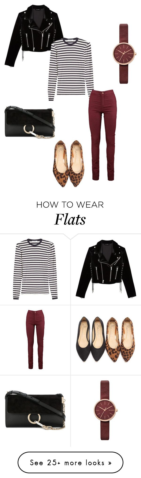 """""""Untitled #330"""" by addieraedesigns on Polyvore featuring The Kooples, MaxMara, Chloé and Skagen"""